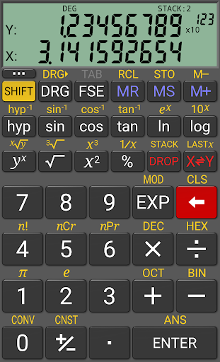 realcalc-scientific-calculator for android screenshot