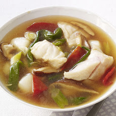 Hot-and-Sour Seafood Soup