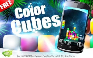 Screenshot of Color Cubes - Match 3 free