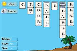 Screenshot of Mot Solitaire