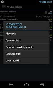 All Call Recorder APK for Bluestacks