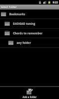 Screenshot of Reverse Chord Finder Free