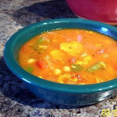 Vegetable Soup with Couscous