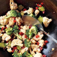 Emeril's Broccoli and Cauliflower Stir-Fry