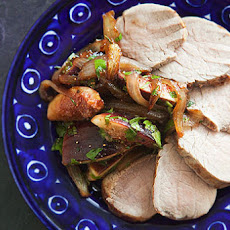 Pork Tenderloin with Figs and Onions