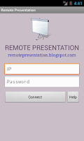 Screenshot of Remote Presentation