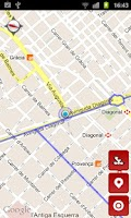 Screenshot of Carril bici Barcelona