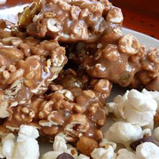 Butterscotch Popcorn Bars