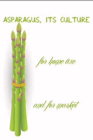 Asparagus its culture for hom