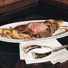 Roasted Leg of Lamb with Yukon Gold Potatoes