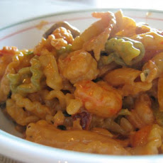 Angel Pasta with Lobster Sauce