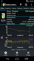 Screenshot of Battery Monitor Widget