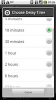 Screenshot of Lock Delay