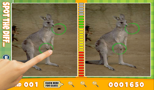 FREE Spot Difference Animals - screenshot