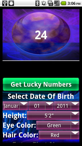 Advanced Lucky Numbers Fortune