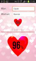 Screenshot of Love Calculator HD Pro