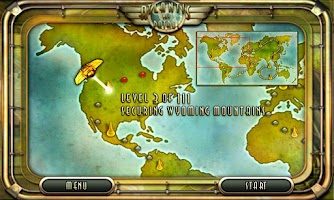 Screenshot of Atlantis Sky Patrol HD