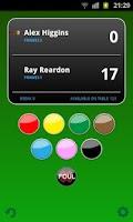 Screenshot of Snooker Scoreboard Free