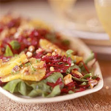 Spinach Salad with Beets and Oranges