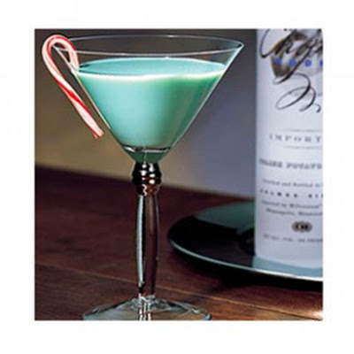 Chopin Mistletoe Martini