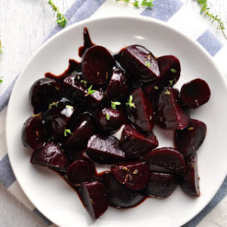 Balsamic Glazed Beetroots (Beets)