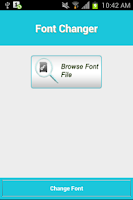 Screenshot of Font-oosh: Font Installer