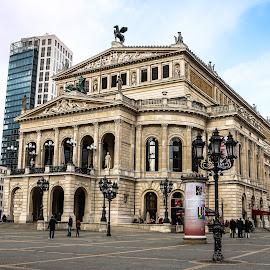 Old opera by Natalia Dobrescu - Buildings & Architecture Public & Historical ( hessen, frankfurt, building, canon70d, germany, opera, historical, architecture, photography )