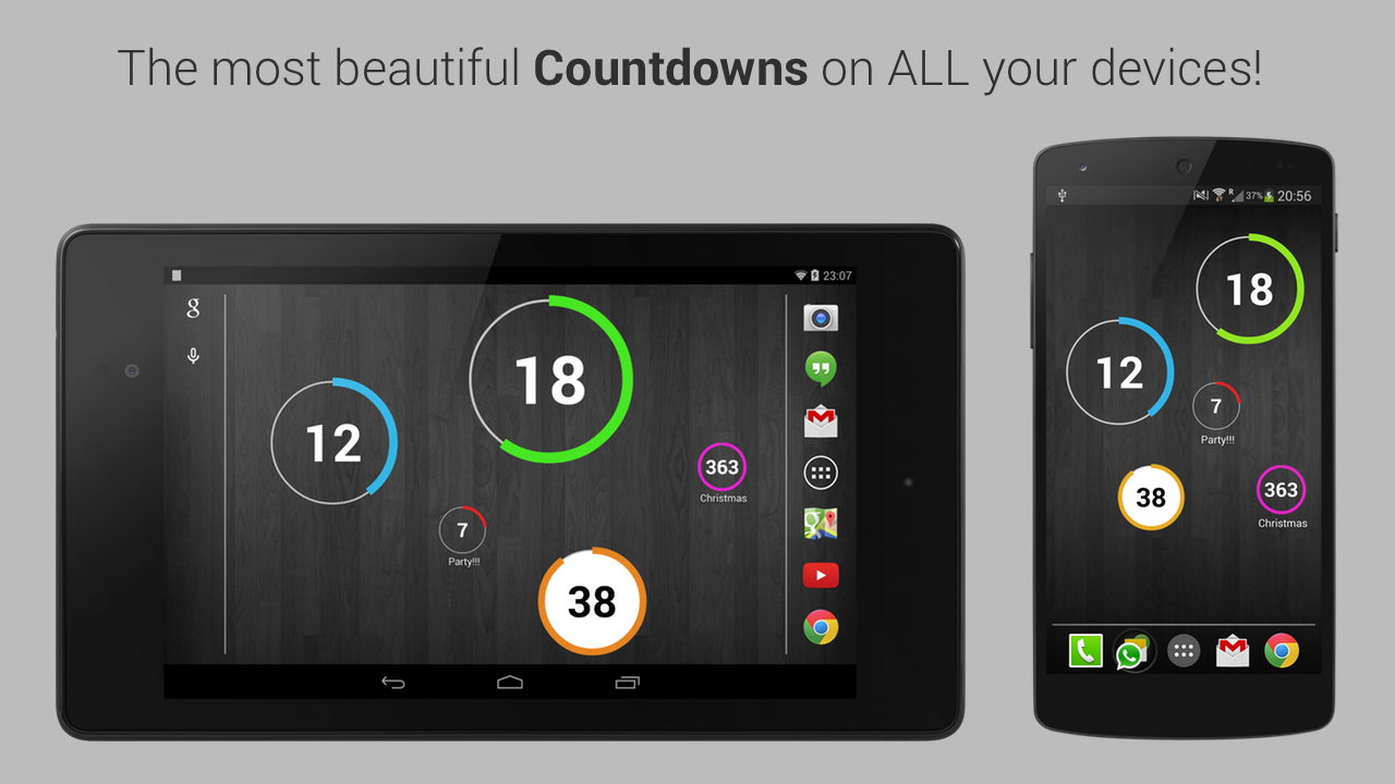 Countdown Widget for Events Screenshot 3