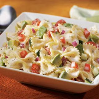 Farfalle Pasta Salad With Bell Peppers Recipes