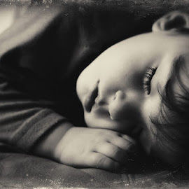 Sleep by Tracy Brewington - Digital Art People ( fine art, children, sleeping )