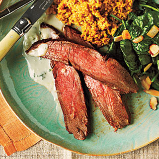 Chipotle-Rubbed Flank Steak