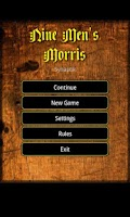 Screenshot of Nine Men's Morris