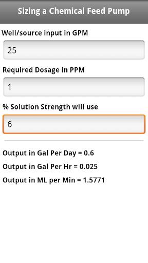 玩免費工具APP|下載Sizing a Chemical Pump app不用錢|硬是要APP