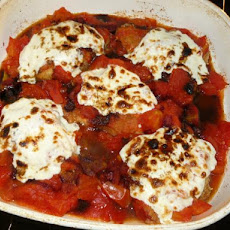 Oven-Baked Chicken With Fresh Mozzarella & Tomatoes
