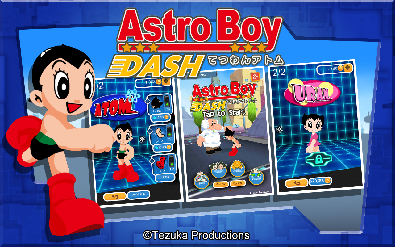 Astro Boy Dash Screenshot 9