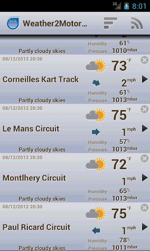 Weather2MotorRacing ads free