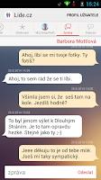Screenshot of Lide.cz