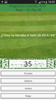 Screenshot of Trivial Mundiales de Fútbol
