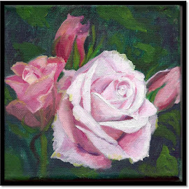Emma's Roses by Patty Bingham - Painting All Painting