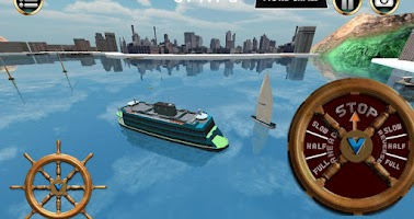 Screenshot of Boat Simulator ferry 3D