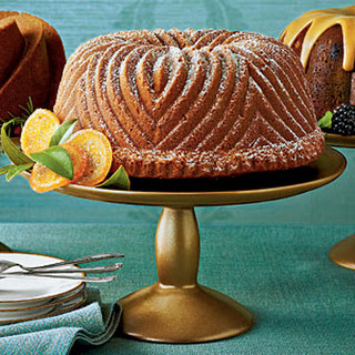 Brown Sugar-Bourbon Bundt