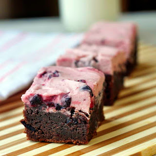 Chewy Chocolate Cherry Brownies