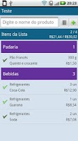 Screenshot of QQFalta - Lista de Compras