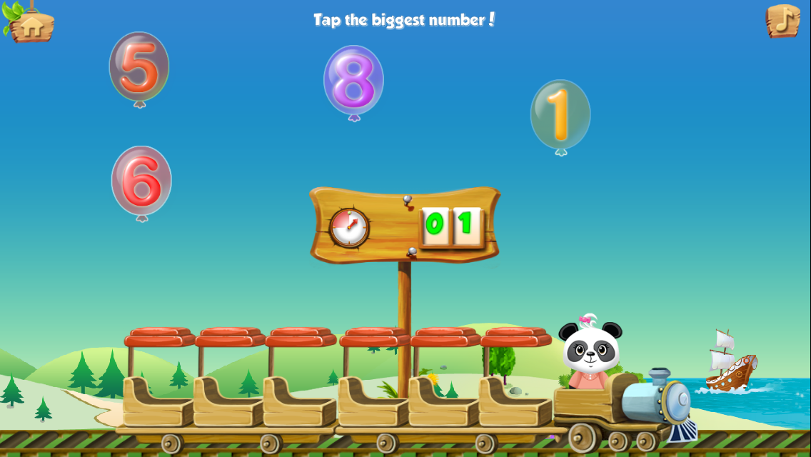 Lola's Math Train Learn Basics Screenshot 7