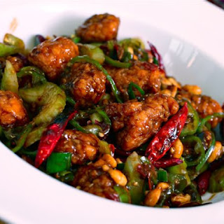 Kung Pao Popeye (Kung Pao Chicken Made with Popeye's Nuggets)
