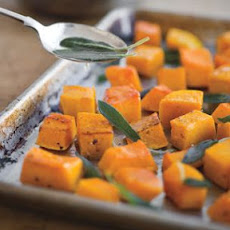 Roasted Butternut Squash with Brown Butter and Sage
