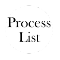 Process List icon