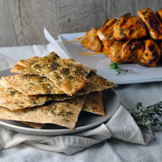 Crisp Lavash with Zaatar