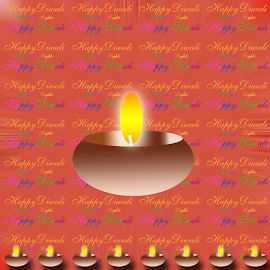 Diwali by Dipali S - Typography Words ( indian culture, bright, illustration, heat, holidays and celebrations, hinduism, flame, traditional culture, lantern, candle, greetings, asia, india, light, shiny, abstract, text, greeting, font, backgrounds, christmas, diya, fire, diwali, ecard, red, concepts and ideas, background, lamp, celebration, glowing, typography, traditional festival )