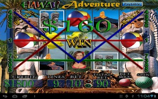 Screenshot of Hawaii Adventure Vegas Slots